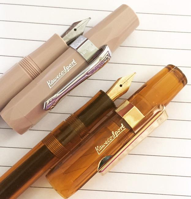 Kaweco Sport Skyline Fountain Pen Cappuccino EF extra fine